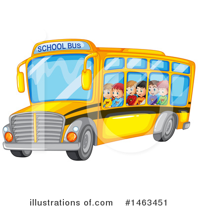 School Bus Clipart #1463451 by Graphics RF