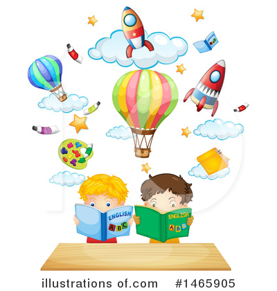 Hot Air Balloon Clipart #1465905 by Graphics RF