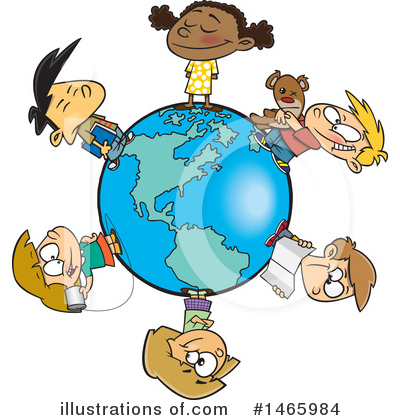 Diversity Clipart #1465984 by toonaday