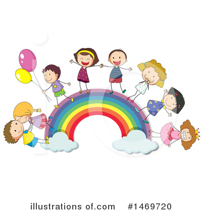 Rainbow Clipart #1469720 by Graphics RF