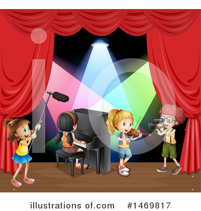 Concert Clipart #1469817 by Graphics RF