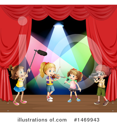 Concert Clipart #1469943 by Graphics RF