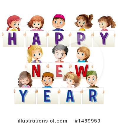 New Year Clipart #1469959 by Graphics RF