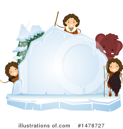Woolly Mammoth Clipart #1478727 by BNP Design Studio