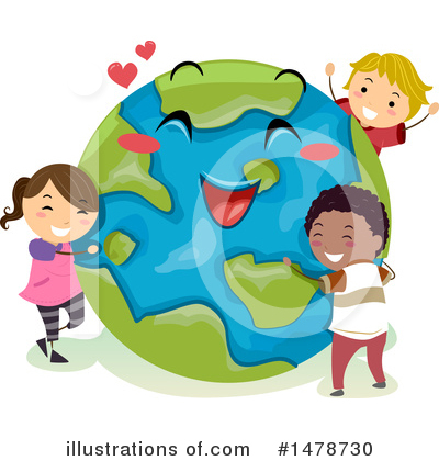 Earth Clipart #1478730 by BNP Design Studio