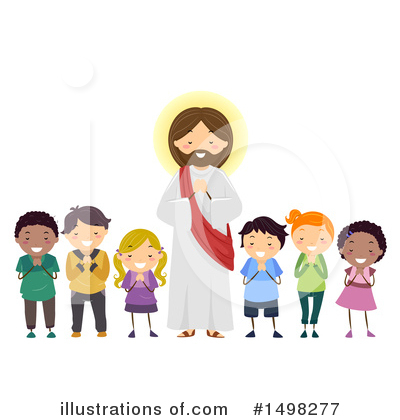 Praying Clipart #1498277 by BNP Design Studio