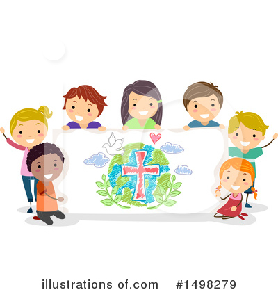 World Peace Clipart #1498279 by BNP Design Studio