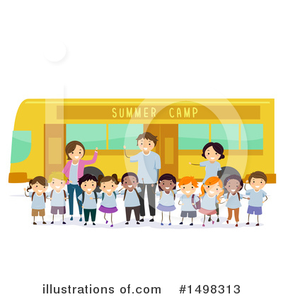 Summer Camp Clipart #1498313 by BNP Design Studio