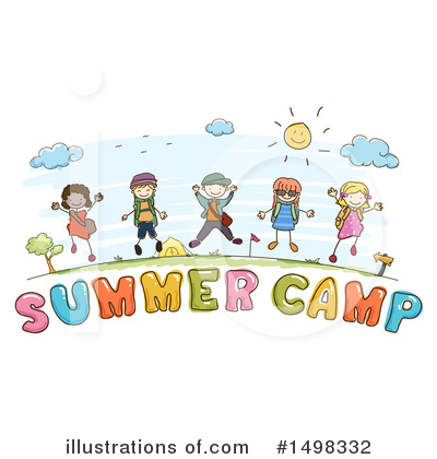 Summer Camp Clipart #1498332 by BNP Design Studio