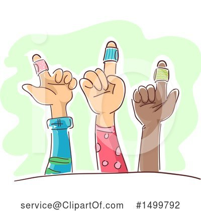 Hand Clipart #1499792 by BNP Design Studio