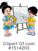 Children Clipart #1514203 by Lal Perera