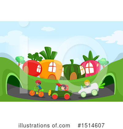Radish Clipart #1514607 by BNP Design Studio