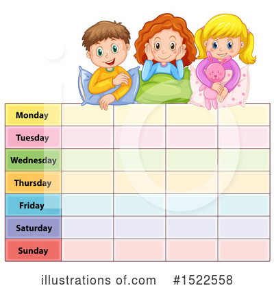 Day Of The Week Clipart #1522558 by Graphics RF