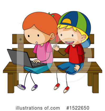 Laptop Clipart #1522650 by Graphics RF