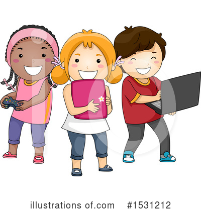 Tablet Computer Clipart #1531212 by BNP Design Studio