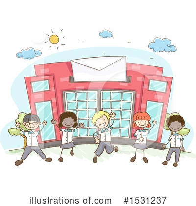 Post Office Clipart #1531237 by BNP Design Studio
