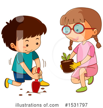 Girl Clipart #1531797 by Graphics RF