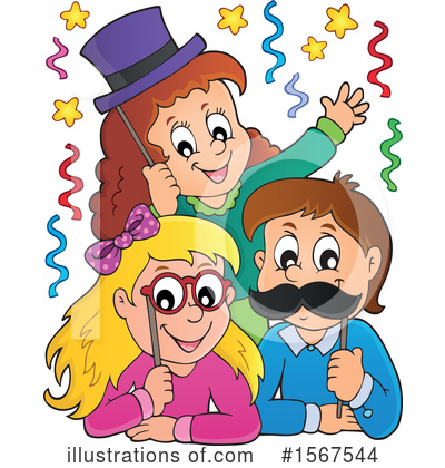 Royalty-Free (RF) Children Clipart Illustration by visekart - Stock Sample #1567544