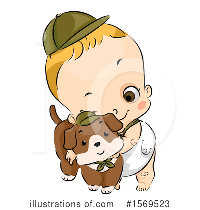 Toddler Clipart #1569523 by BNP Design Studio