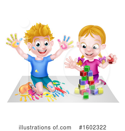 Royalty-Free (RF) Children Clipart Illustration by AtStockIllustration - Stock Sample #1602322