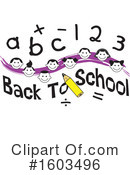 Children Clipart #1603496 by Johnny Sajem