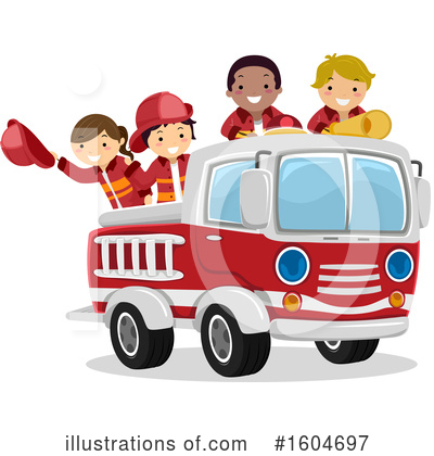 Fireman Clipart #1604697 by BNP Design Studio