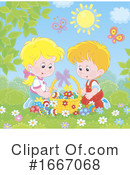 Children Clipart #1667068 by Alex Bannykh