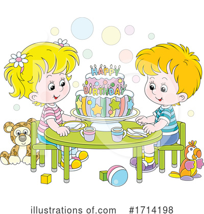 Royalty-Free (RF) Children Clipart Illustration by Alex Bannykh - Stock Sample #1714198