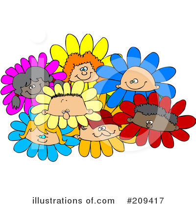 Royalty-Free (RF) Children Clipart Illustration by djart - Stock Sample #209417