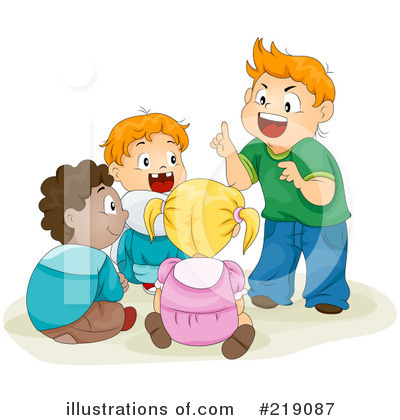 Royalty-Free (RF) Children Clipart Illustration by BNP Design Studio - Stock Sample #219087