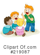 Royalty-Free (RF) Children Clipart Illustration #219087