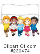 Royalty-Free (RF) Children Clipart Illustration #230474
