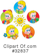 Children Clipart #32837 by Alex Bannykh