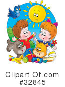 Children Clipart #32845 by Alex Bannykh