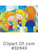 Children Clipart #32849 by Alex Bannykh