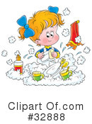 Children Clipart #32888 by Alex Bannykh