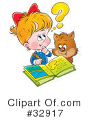 Royalty-Free (RF) Children Clipart Illustration #32917