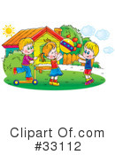 Royalty-Free (RF) Children Clipart Illustration #33112