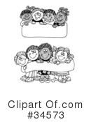 Children Clipart #34573 by C Charley-Franzwa