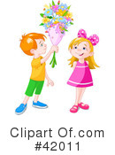 Royalty-Free (RF) Children Clipart Illustration #42011