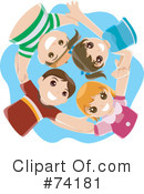 Royalty-Free (RF) Children Clipart Illustration #74181