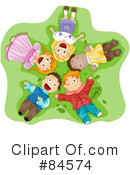 Royalty-Free (RF) children Clipart Illustration #84574
