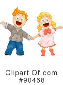 Royalty-Free (RF) children Clipart Illustration #90468