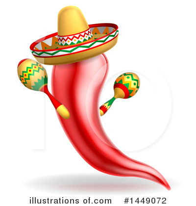 Mexican Clipart #1449072 by AtStockIllustration