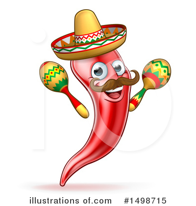 Mexican Clipart #1498715 by AtStockIllustration