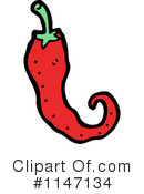 Royalty-Free (RF) Chili Pepper Clipart Illustration #1147134