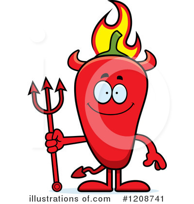 Devil Clipart #1208741 by Cory Thoman