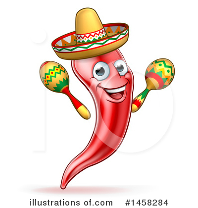 Mexican Clipart #1458284 by AtStockIllustration