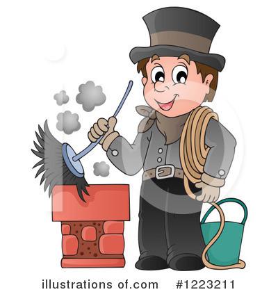 Chimney Sweep Clipart 1223211 Illustration By Visekart