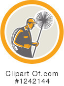 Chimney Sweep Clipart #1242144 by patrimonio